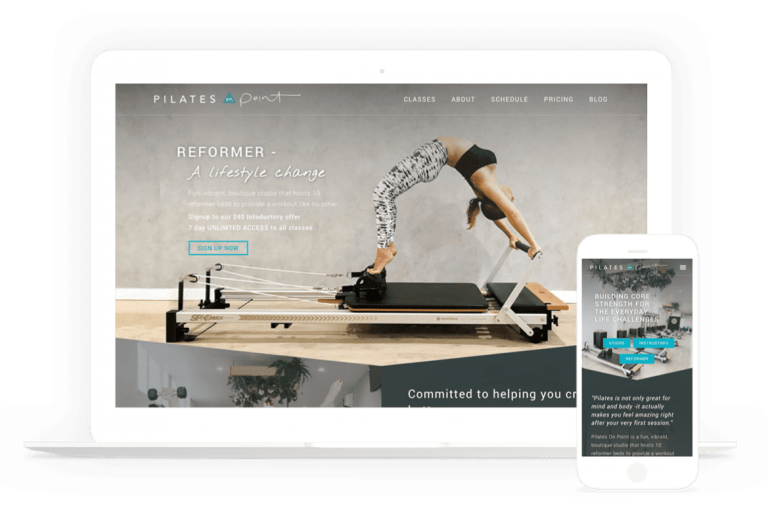 Pilates Website