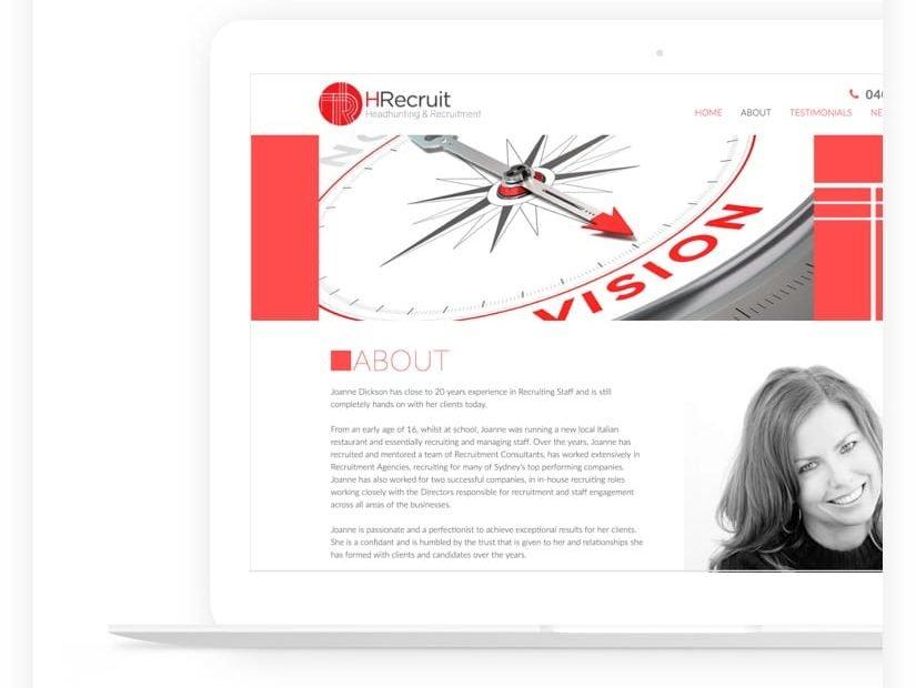 web design project recruitment
