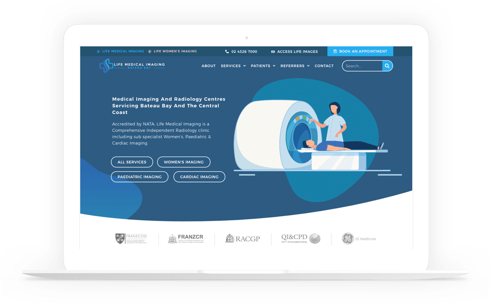 radiology website