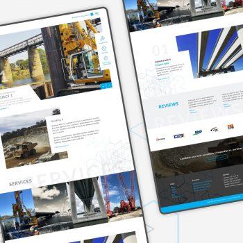 Engineering Website Civil Consult Feature